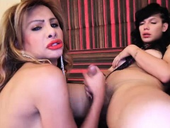Anjelica and Diosa are two horny transsexuals!