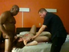Sexy busty mature Darla Crane in interracial anal threesome
