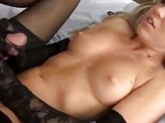 Busty babes receive big loads on their giant hooters compilation