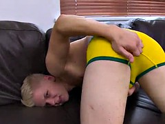hot twinks rimjob with cumshot