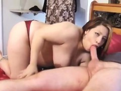 Pregnant babe pleasing two dicks