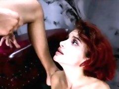 Caged slut Lola Fae has skinny cunt punished deep and hard