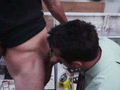 Amateur sucking cock for gay pawn cash on spycam