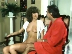 Gorgeous Vintage Pornstar Shows Her Tempting Natural Boobs