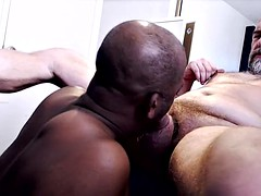 Black cocksuck works three loads of hairy not daddy hahn