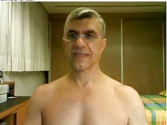 Straight guys feet on webcam #512