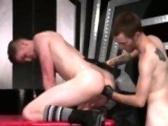 Gay porn nurse Slim and slick ginger hunk Seamus O'Reilly fi