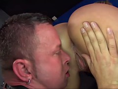 mistress with a phat ass alexis texas rides slave's miserable face