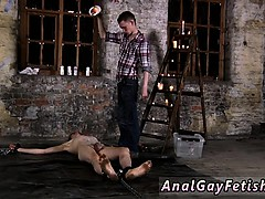 Free gay muscle fantasy bondage Chained to the warehouse flo