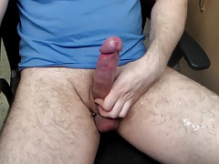 No hands cum squirting