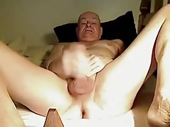 Older men masturbating hard