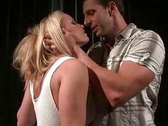 Couple punishing their slavegirl