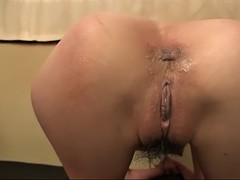four japanese girls get their pussies licked and asses fingered by four dudes