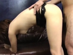 Karen Miyajima is well fucked in mouth and between hairy