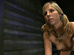 blonde bitch gets cruel treatment