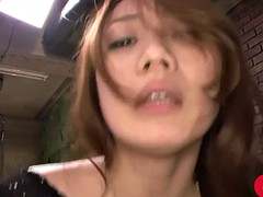 kazumi nanase's hairy pussy drips with cum after hot cfnm sex