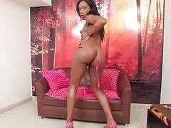 Shelady seducer masturbates on webcam
