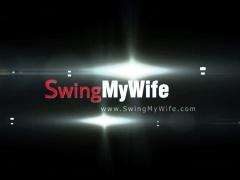 Short Hair Swinger Wife Cuckold Sex