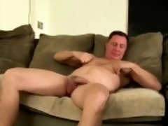 Solo daddy Santos Carlos loves masturbation and sex toys