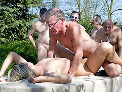 Gangbang The Rich Young Pussy