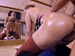 nikki dream lets him ram his big cock in pussy doggy style