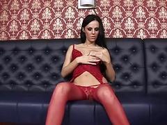 Hot solo masturbation with Brenda Black