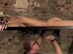 Hero bondage and male doctor gay Blindfolded sub man