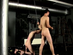 Hot twink Aiden porks his face, draining out jizz over the m