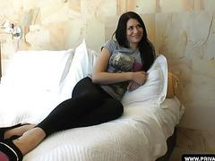 Teen Erika Bellucci has a hardcore anal casting