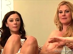 BTS-Lesbian Office Seductions #06