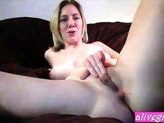 Busty sexy Delicious Delilla likes an anal play ALIVEGIRLcom