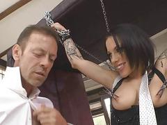 My slave got squirt