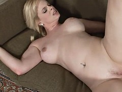 mom rides cock as a cowgirl