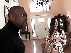 India Summer blows a black guy passionately