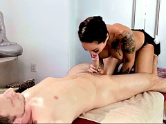 foot fetish tattooed brunette screaming while penetrated hardcore