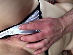 Making Her Cum In Her Satin Panties