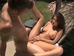Karina White in Big Boob Car Wash 2