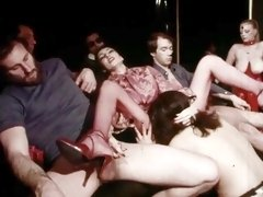 This vintage porn movie is about retro BDSM fans with rough sex scenes