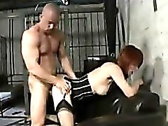 Redhead turns him on and they fuck lustily