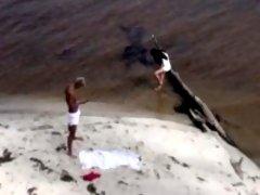 Free photos of naturist voyeur on the beach