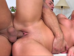 silvia burton getting her sweet pussy pounded from the rear