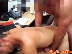 Spycam pawn amateur fucked for cash