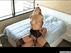 Alexis Texas in stockings sex