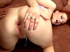 Sex starved Russian bitch Tiffany gets ass fucked hard