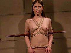 Slavegirl getting punished and hard fucked