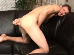 Free amateur long playing gay porno videos Jarrod eases down