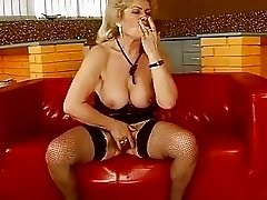 Ugly busty granny riding huge cock