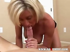 Blond COUGAR Gets Her Twat Pounded