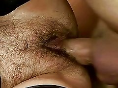 Nasty granny gets her hairy pussy fucked