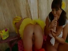 Brutal balls in her opened analhole